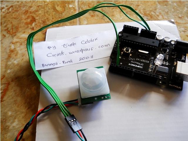 Pendeteksi gerakan manusia menggunakan sensor passive